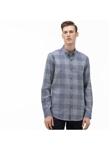 Lacoste Erkek Slim Fit Gömlek CH0012.12L Mavi